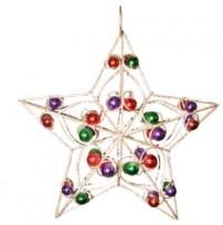 Bells, Stars, Pinecone Decorations